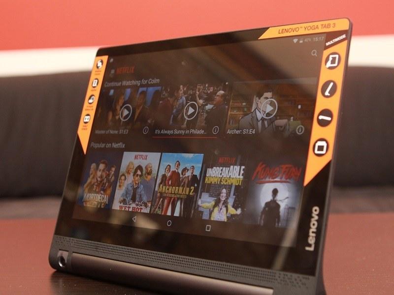 Lenovo Yoga Tab 3 review: The media junkie's tablet