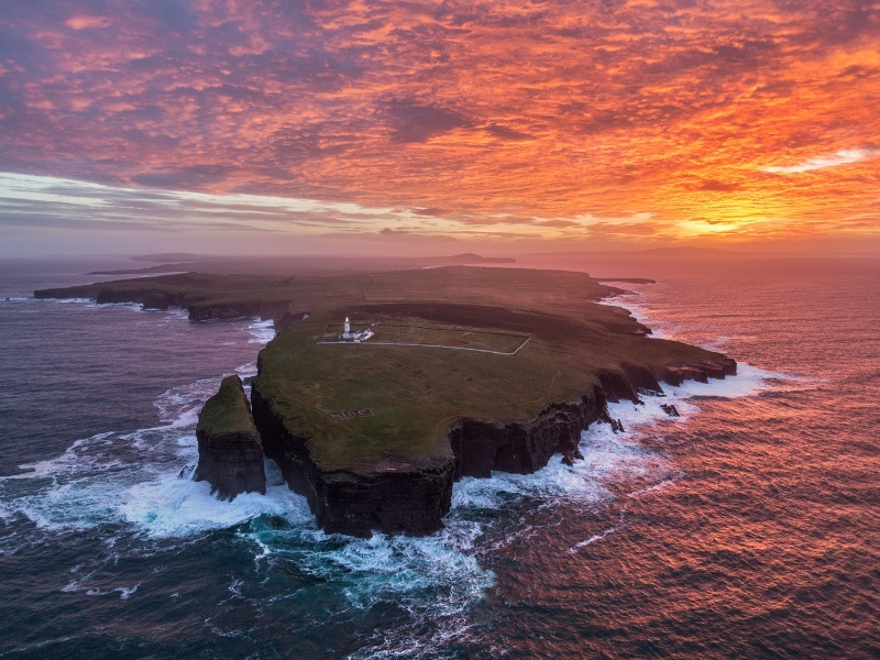 Beautiful photos of Ireland's Wild Atlantic Way through the eyes of a drone