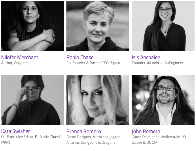 Inspirefest 2016 speakers
