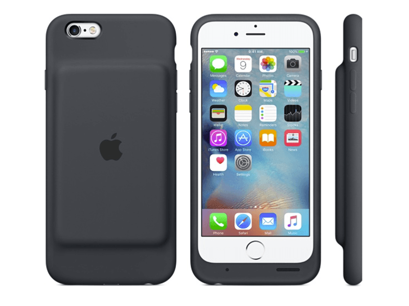 Apple reveals its own microfibre Smart Battery Case for iPhone 6 and iPhone 6s
