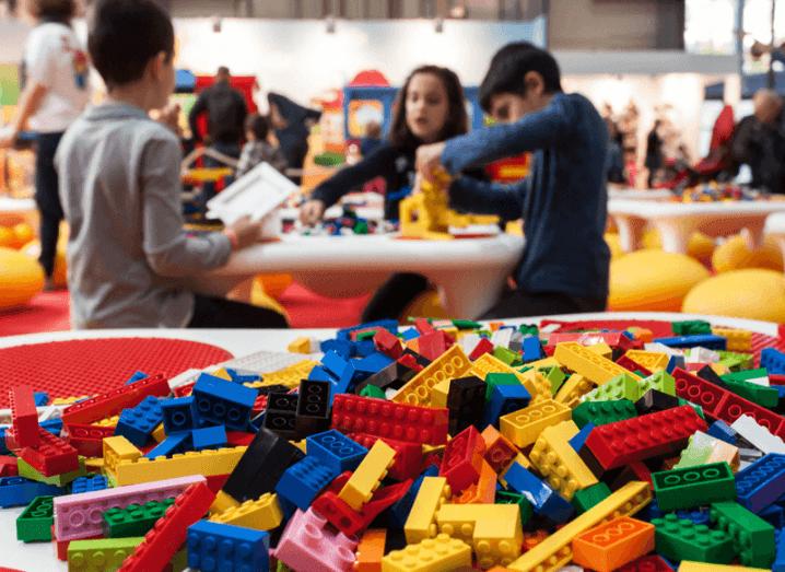 Buckets of Lego