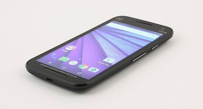 Moto G smartphone competition