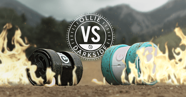 Ollie vs Darkside competition from Sphero