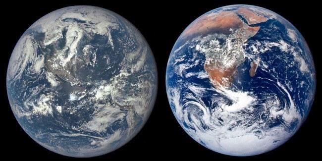 Blue marble NASA