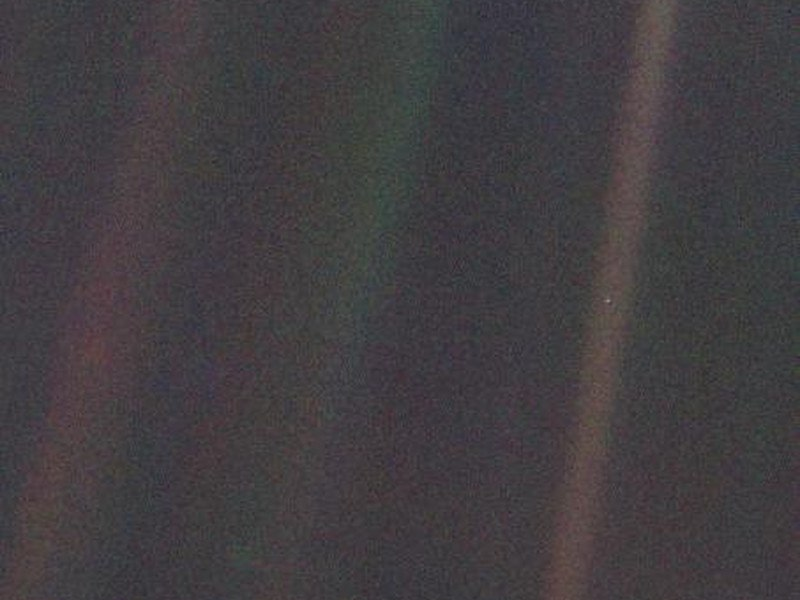 pale blue dot