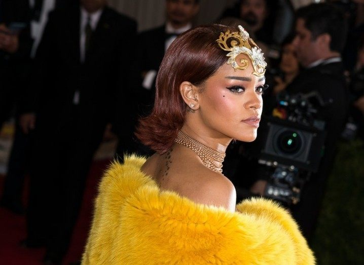 Rihanna at the 2015 Met Gala