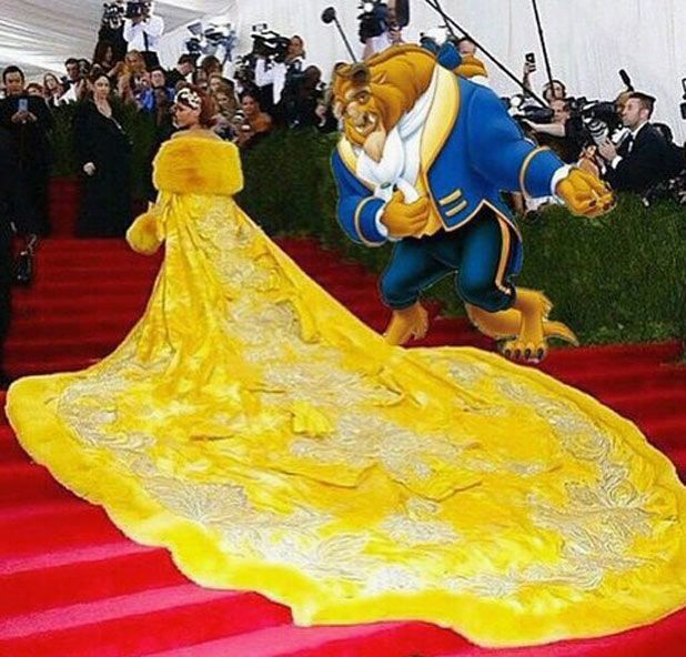 Rihanna dress memes