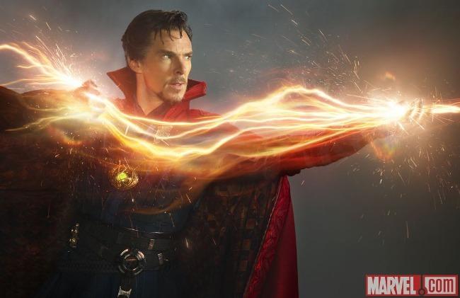 Movies: Benedict Cumberbatch as Marvel's Doctor Strange