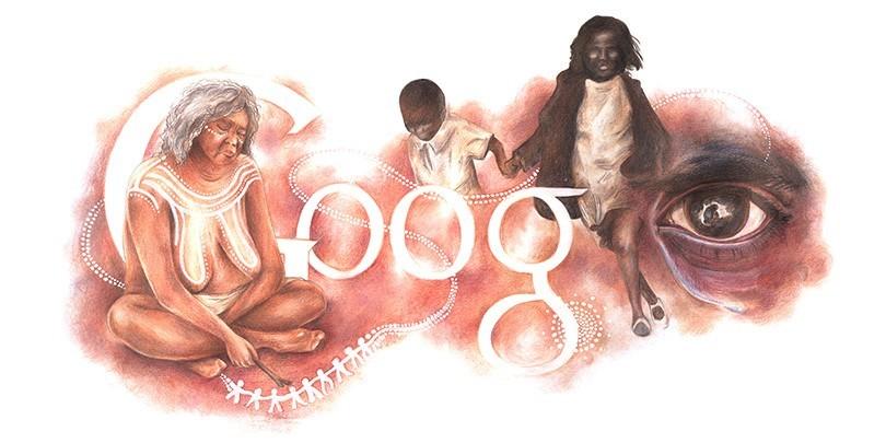 The Australia Day Google Doodle 'Stolen Dreamtime'