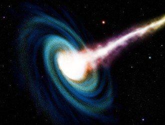 Black holes emit light visible to even amateur astronomers