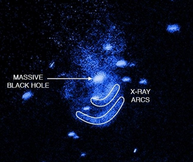 Burping galaxy