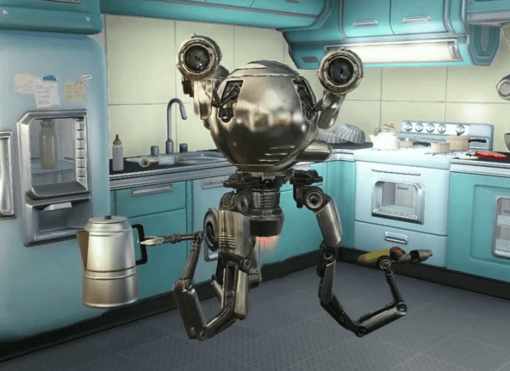 Robot butler from Fallout 4