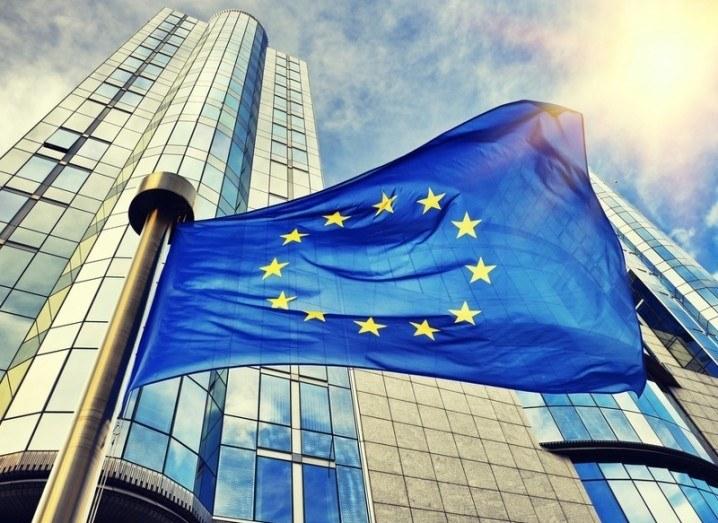 EU GDPR: EU flag