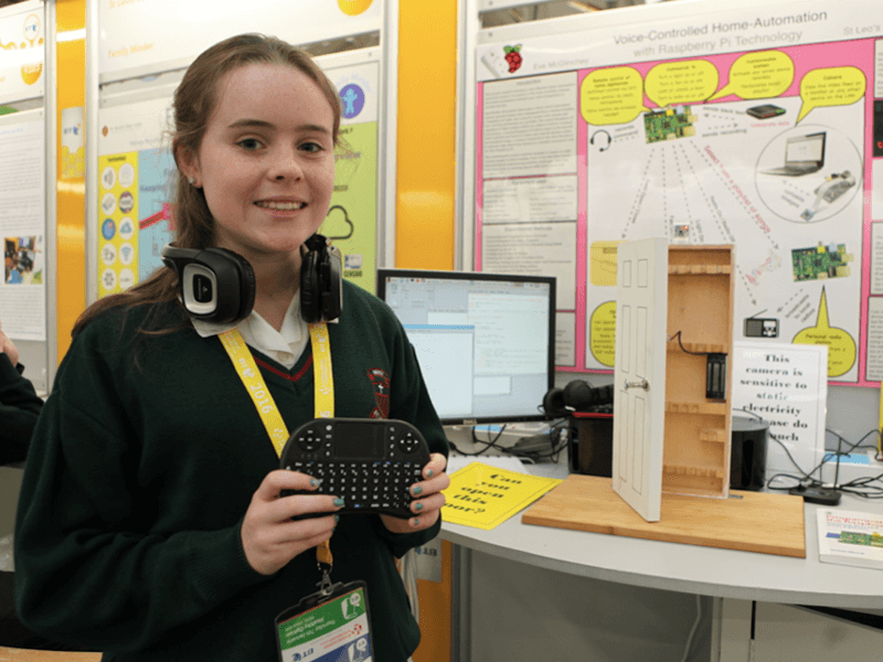 Raspberry Pi home automation among cool tech at BTYSTE 2016 (video)