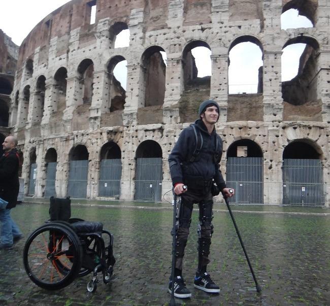 Phoenix exoskeleton Rome