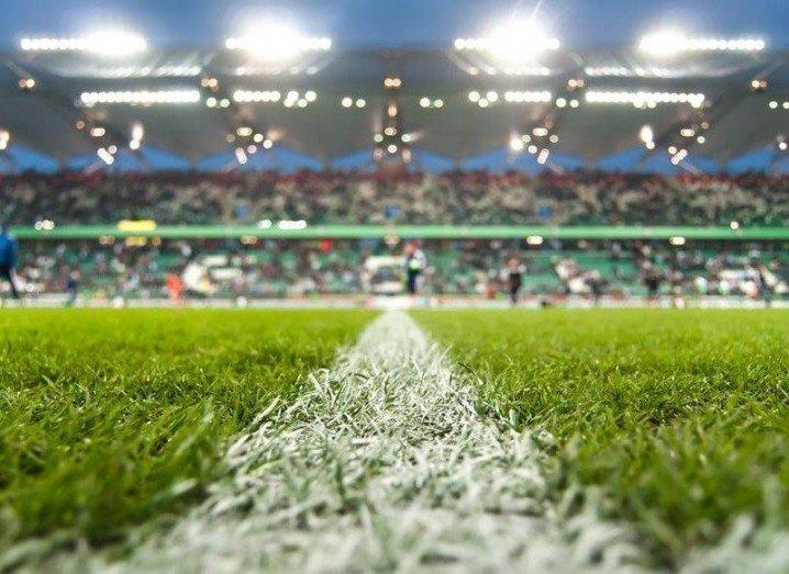 Facebook football pitch