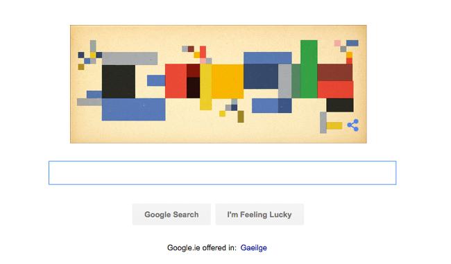 Google Doodle Sophie Taeuber-Arp
