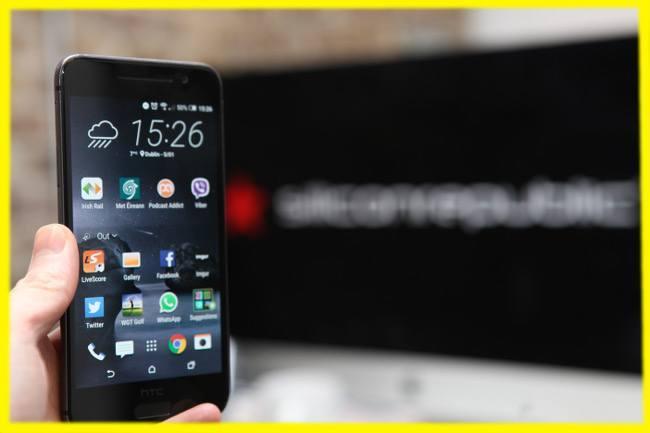 HTC One A9 iPhone