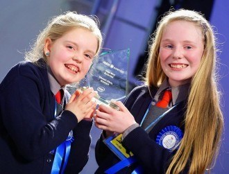 Timahoe girls named overall winners of Intel Mini Scientist