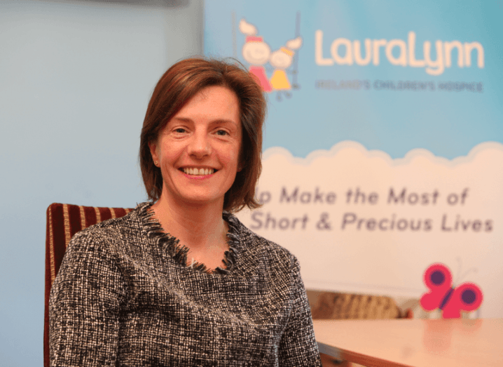 LauraLynn children's hospice Sharon Morrow