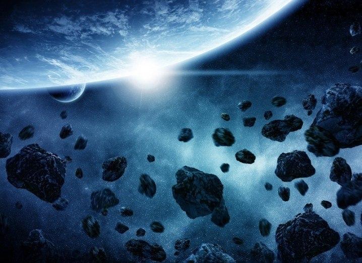 asteroid 3D printing