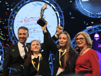 Dublin schoolgirls' animal feed investigation wins BT Young Scientist 2016