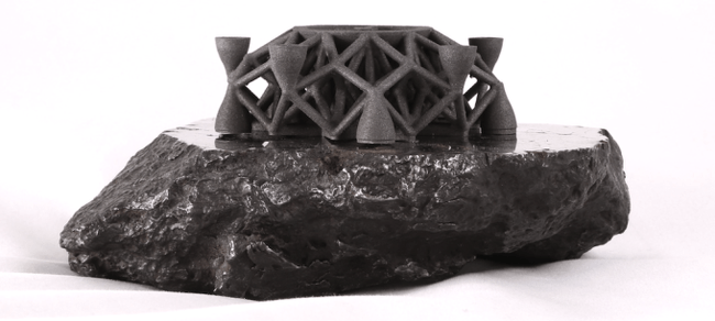3D printing asteroid Planetary Resources