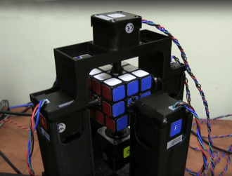 Watch: Rubik's Cube solved in just one second, by a robot
