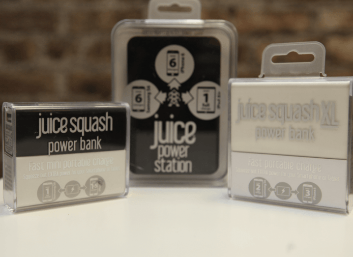 Juice Squash Power Bank, Juice Squash XL Power Bank, Juice Power Station