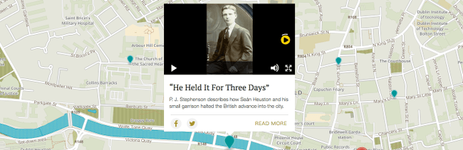 1916 Rising interactive map