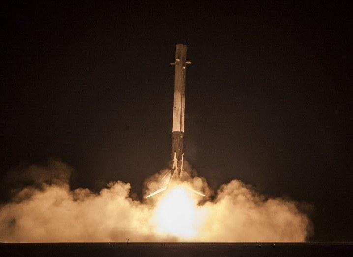 Falcon 9 landing SpaceX Elon Musk