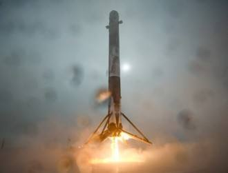 Watch: SpaceX falls agonisingly short of nailing rocket landing
