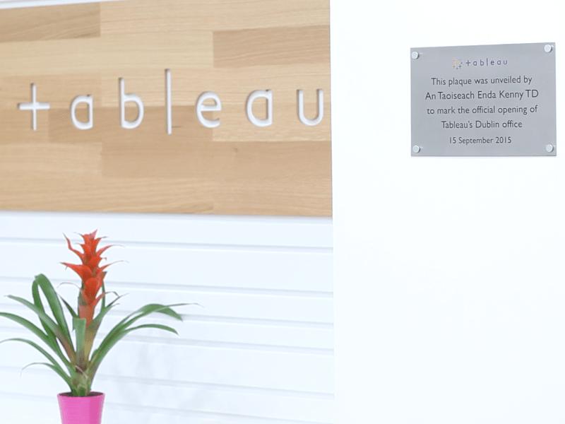 Tableau Opens New Dublin Data Centre