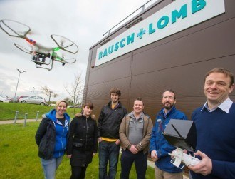 Drones are being used in €115m Bausch + Lomb expansion in Waterford