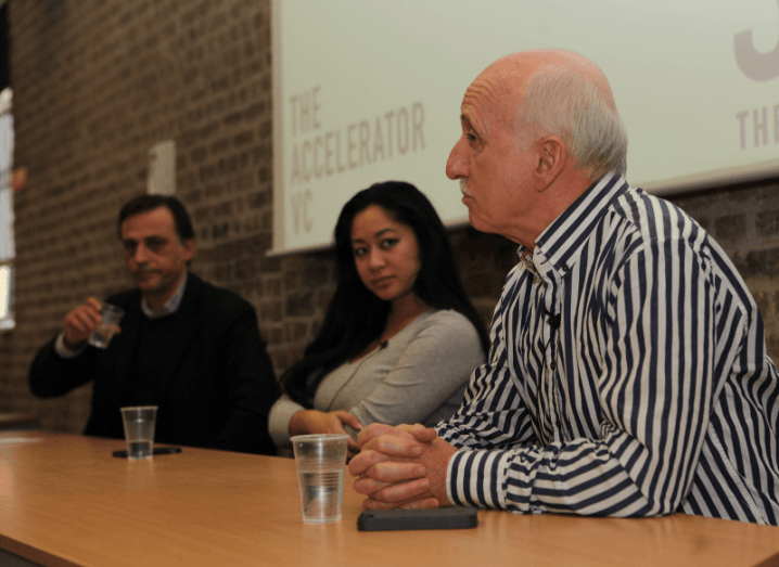 Panelists at SOSV Slingshot: Dublin