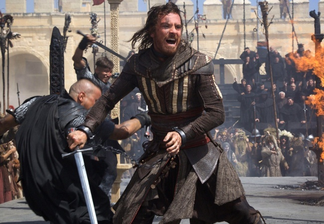 Video game: Michael Fassbender in Assassin's Creed