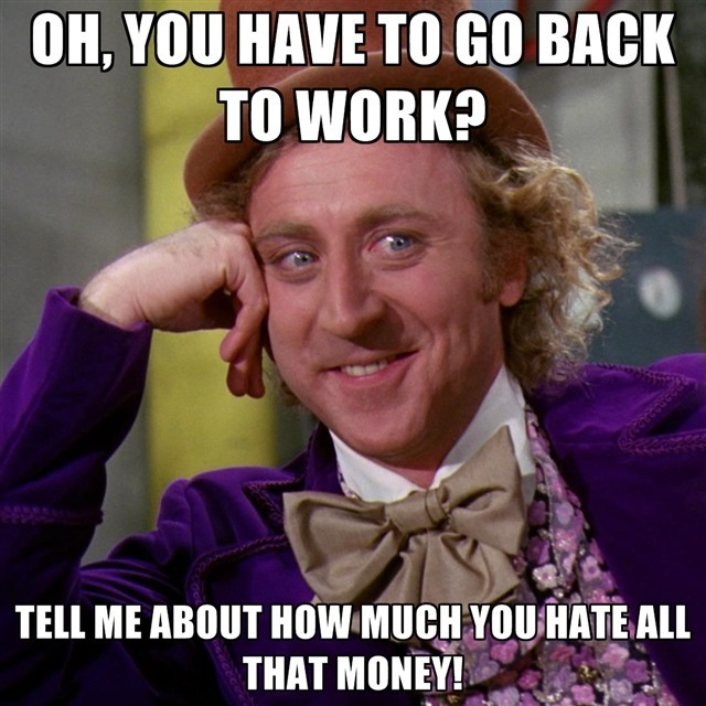 Back to work memes