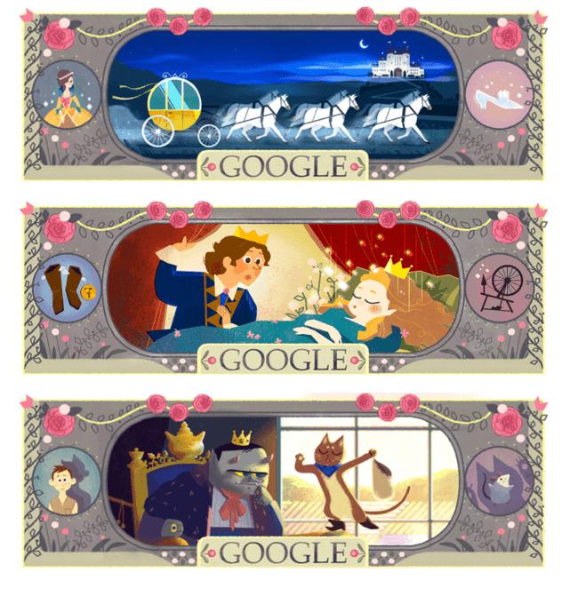 charles-perrault-doodles-google