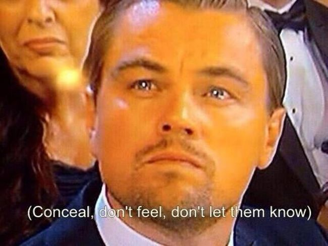 Oscar: Leo, just let it go