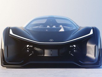 Faraday Future's stupendous concept car can go from 0-100kph in 3 seconds