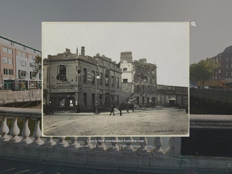 Google virtual tour brings Dublin 1916 Rising vividly to life