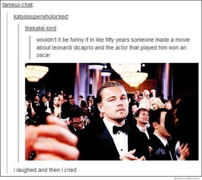 Oscar: Leo's crumbling future