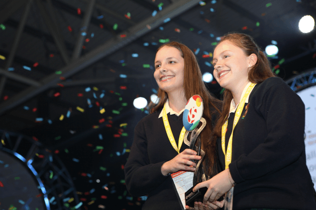 BT Young Scientist winners 2016