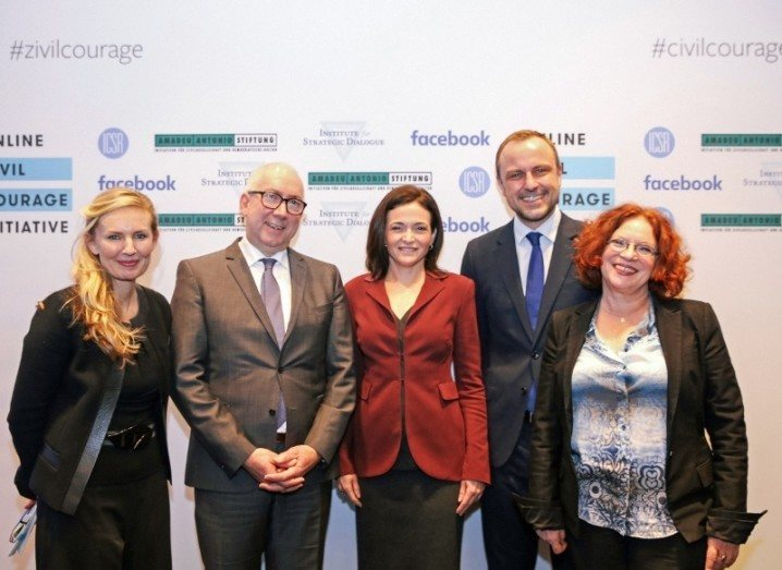 Facebook and Online Civil Courage Initiative press conference