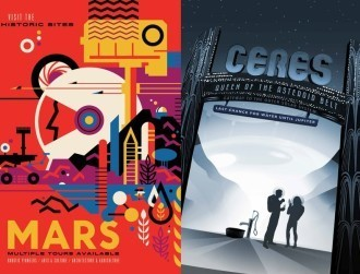 NASA's retro space tourism posters are simply magnificent