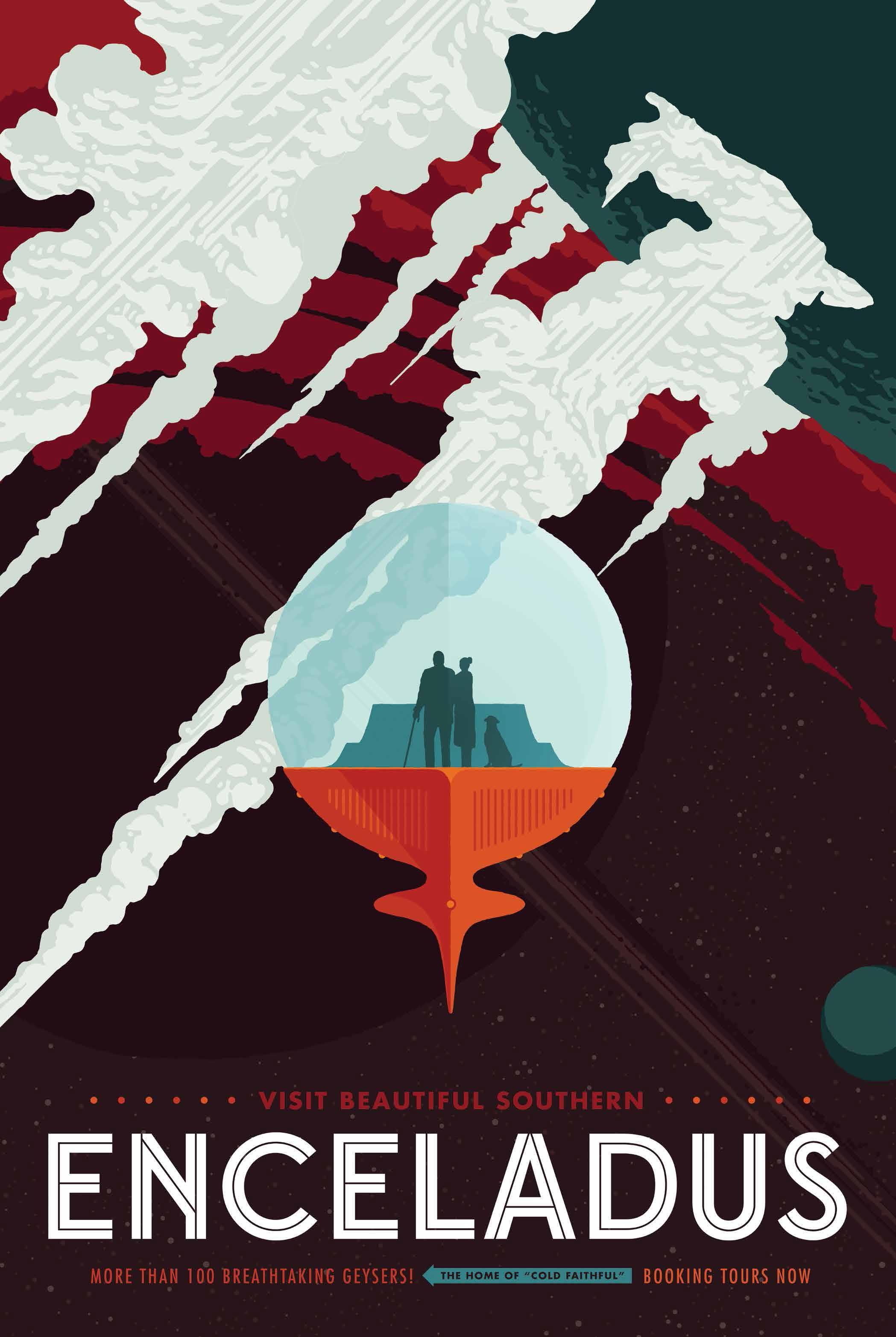NASA retro movie posters