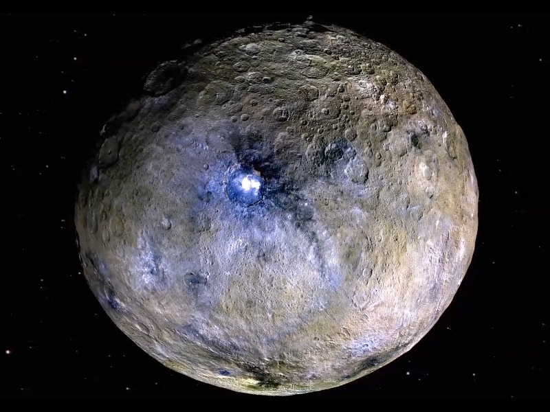 Watch: Dwarf planet Ceres flyby