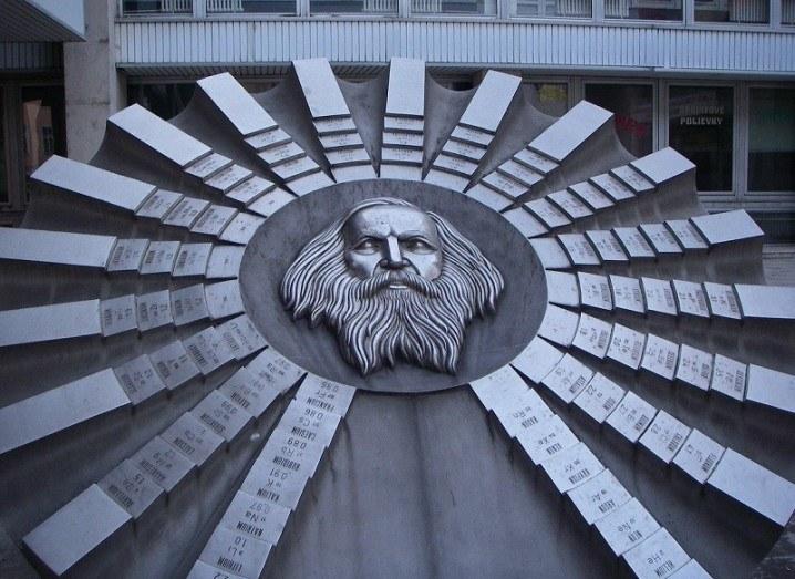 Dmitri Mendeleev sculpture
