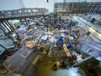 German scientists testing experimental fusion device