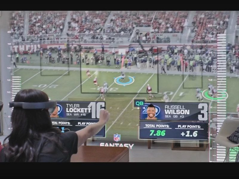 Will Microsoft's HoloLens revolutionise how we watch sport?
